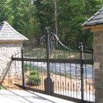 Wrought Iron Knoxville Gates