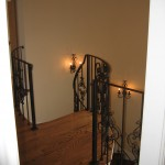 Wrought Iron Knoxville Inside Handrails & Stairs
