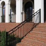Handrails & Stairs Wrought Iron Knoxville Outside
