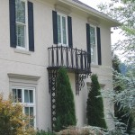 Wrought Iron Knoxville Balconies