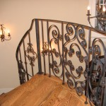 Handrails & Stairs Wrought Iron Knoxville Inside
